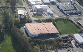 Die HHG GmbH aus der Luft